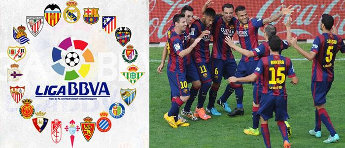 klubblag i spanska ligan