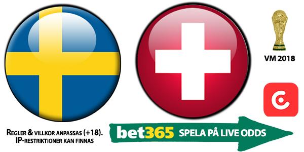 Gratis Livestream Vm-final Sverige Schweiz